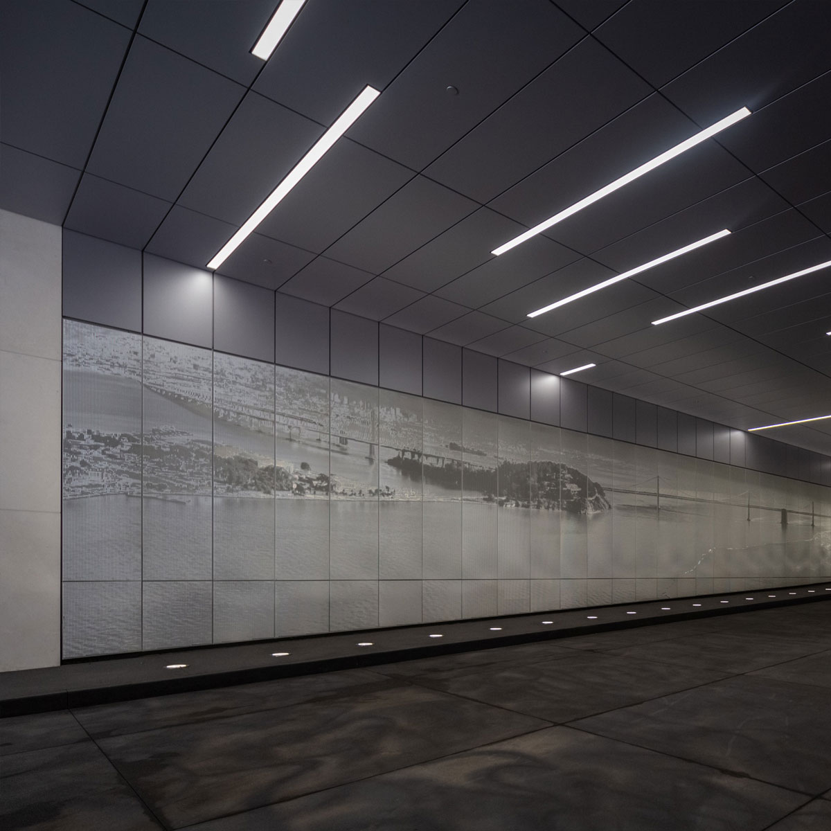 California Pacific Medical Center: Ombrae Installation
